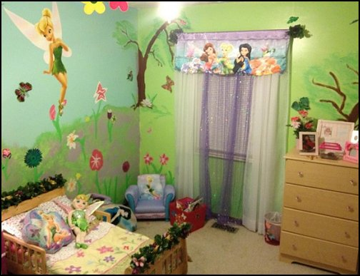 Decorating theme bedrooms  Maries Manor tinker bell