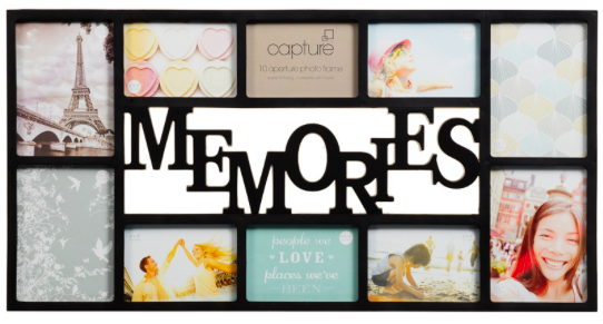B&M Memories Collage Frame