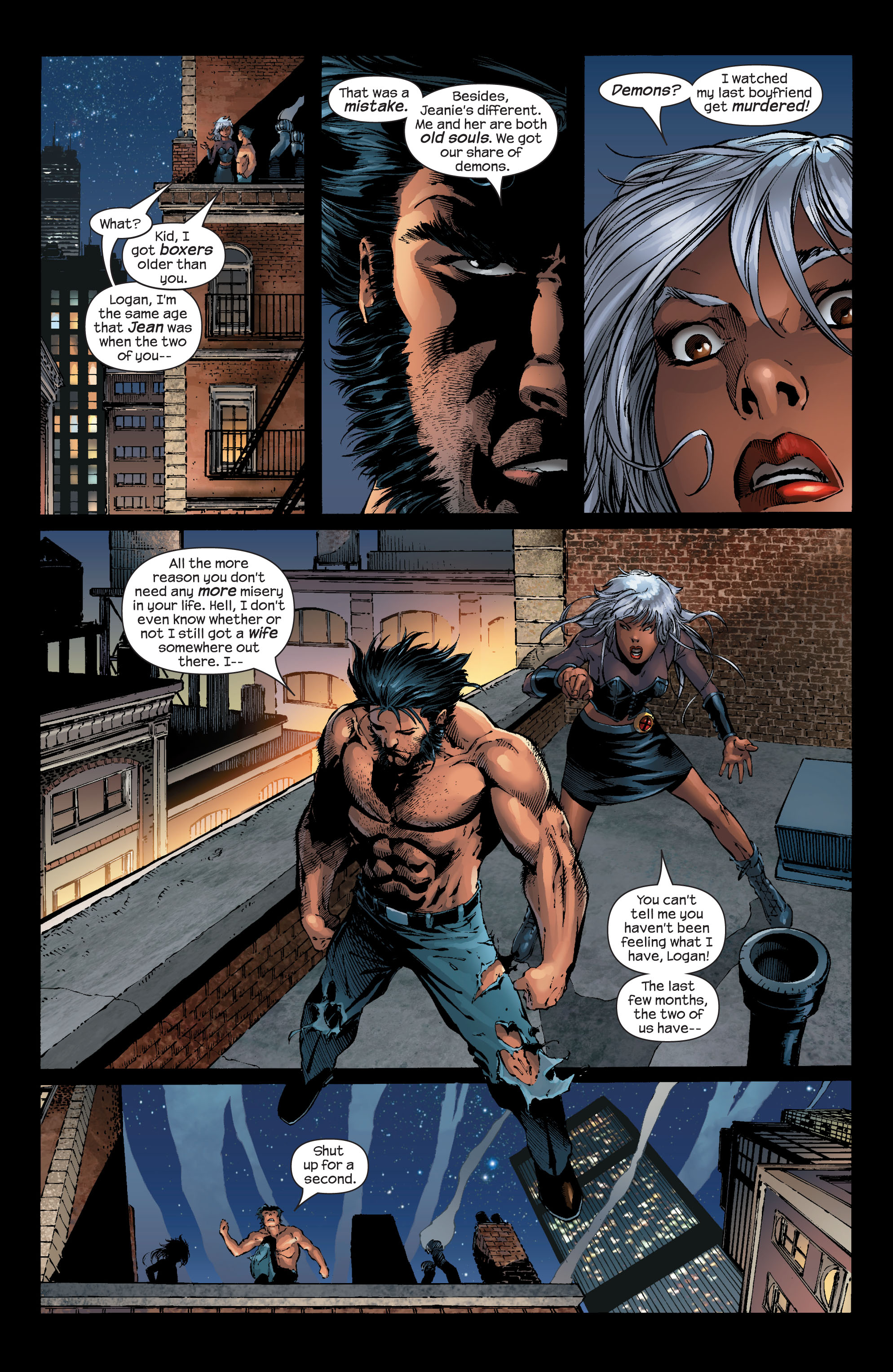 Read online Ultimate X-Men comic -  Issue #52 - 6