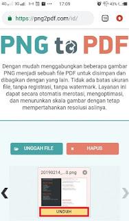 cara convert png menjadi pdf secara online