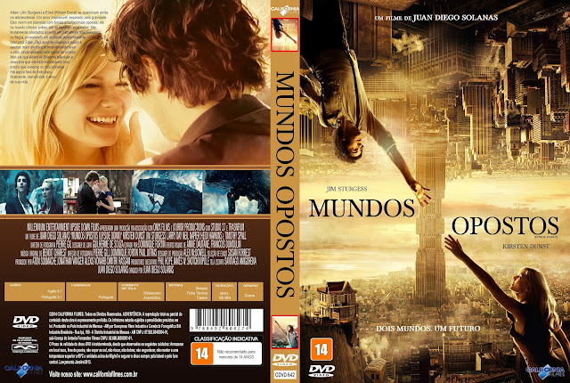 Capa DVD Mundos Opostos