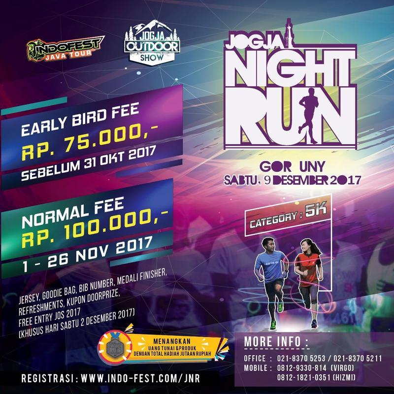 Jogja Night Run • 2017