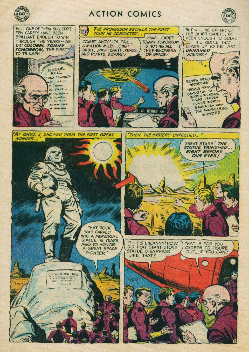 Read online Action Comics (1938) comic -  Issue #224 - 28