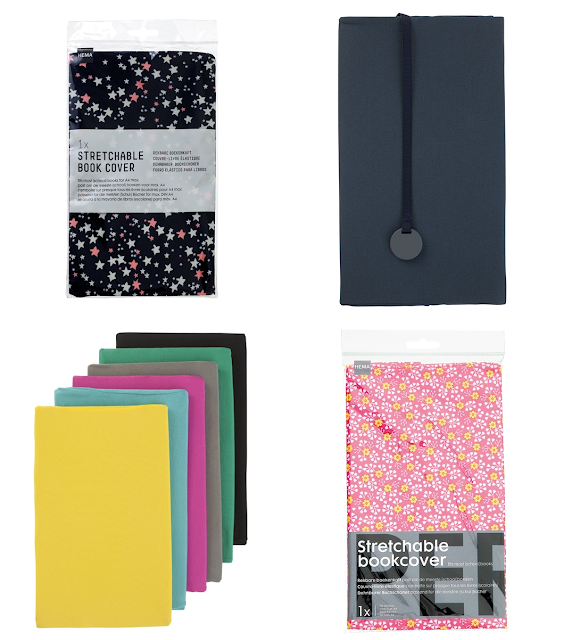 HEMA's stretchable, modern book covers