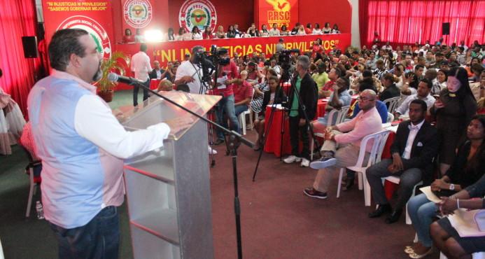 PRSC adelanta para el 17 de septiembre Asamblea escogerá nuevas autoridades