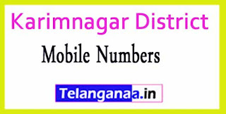 Boinpalle Mandal MPTC | ZPTC Member | MPP | Vice-President Mobile Numbers Karimnagar District in Telangana State
