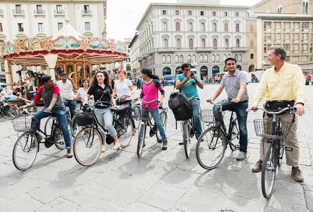 Aluguel de bicicleta para passeio turístico em Florença