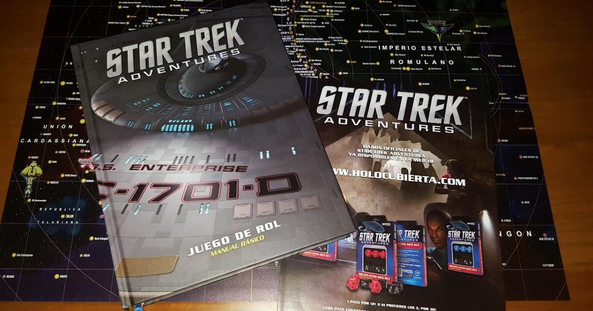 Reseña: Star Trek Adventures el juego de rol (Holocubierta)