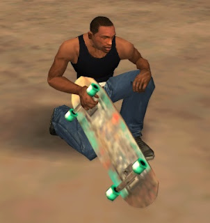 gta sa mod add skate weapon