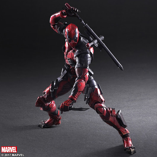 Play Arts Kai Deadpool Figure