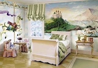 Dormitorio tema princesa