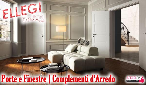 Ellegi design porte e finestre complementi d 39 arredo for Complementi d arredo design