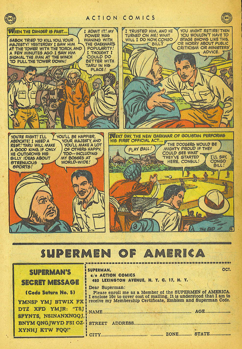 Read online Action Comics (1938) comic -  Issue #149 - 27