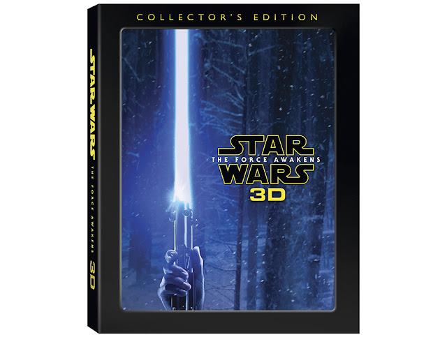 Ya a la venta 'Star Wars: El Despertar de la Fuerza' en Edición Coleccionista Blu-ray 3D