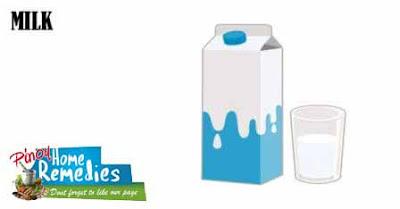 Home Remedies For Peeling Fingertips: Milk