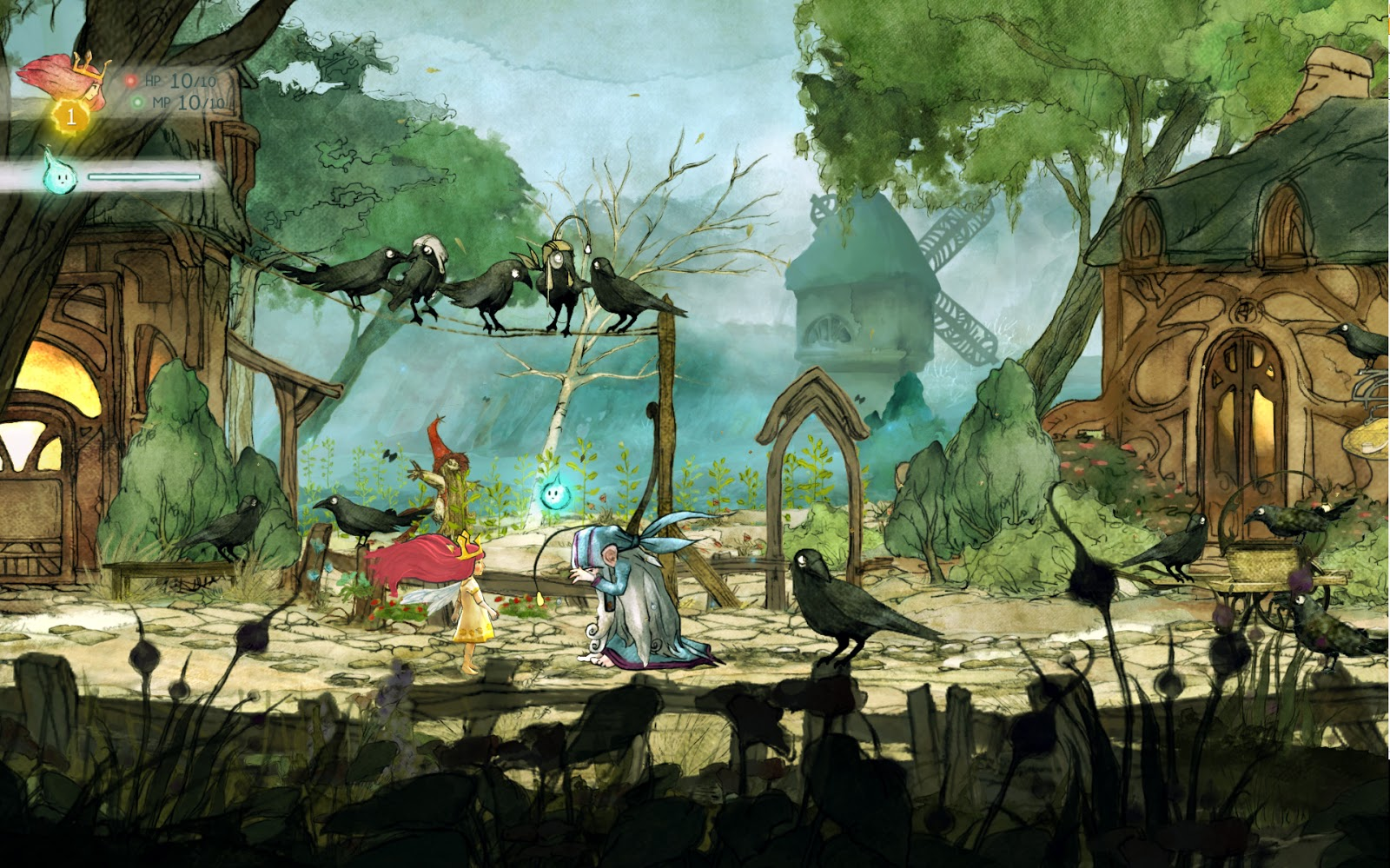 Child of light jogo
