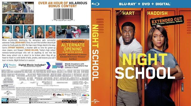 Night School Bluray Cover