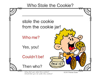 https://www.teacherspayteachers.com/Product/Who-Stole-the-Cookie-Name-Game-3415561