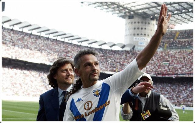 Baggio Goodbye Brescia