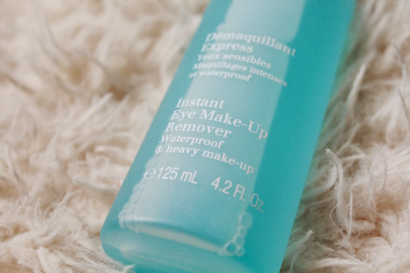 Clarins Instant Eye Make Up Remover Inthefrow