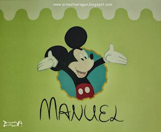 Mural de Disney para decorar habitación