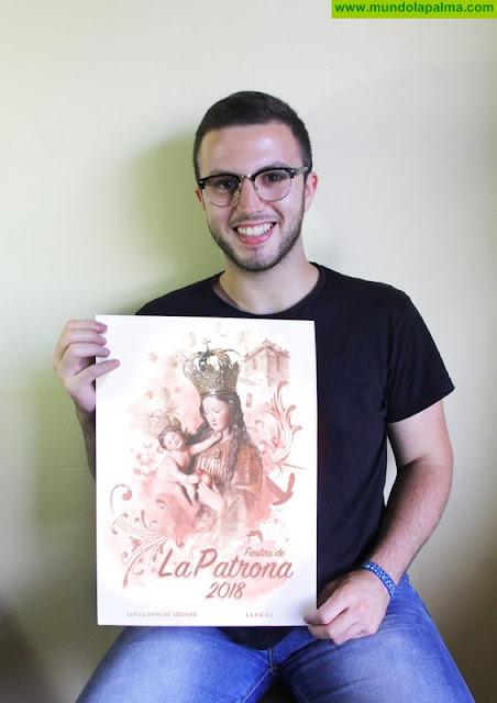 Mario Martín Remedios gana el concurso del cartel de las fiestas de La Patrona de Los Llanos de Aridane