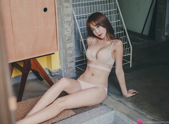 Yoon Ae Ji - Lingerie Set - very cute asian girl - girlcute4u.blogspot.com (1)