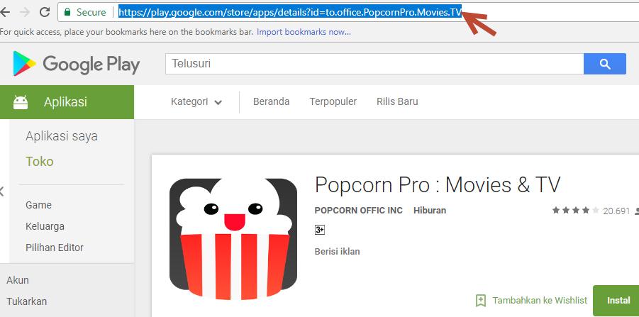 2 Cara Download File APK Google Playstore Dari PC - AkoM
