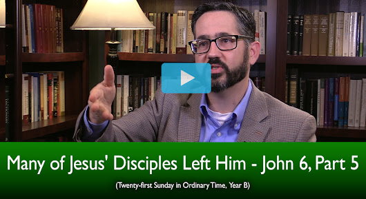 Many of Jesus' Disciples Left Him - John 6, Part 5 (The Mass Readings Explained)