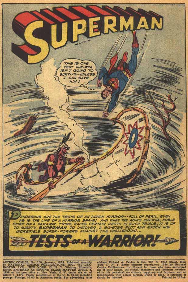 Action Comics (1938) 200 Page 2