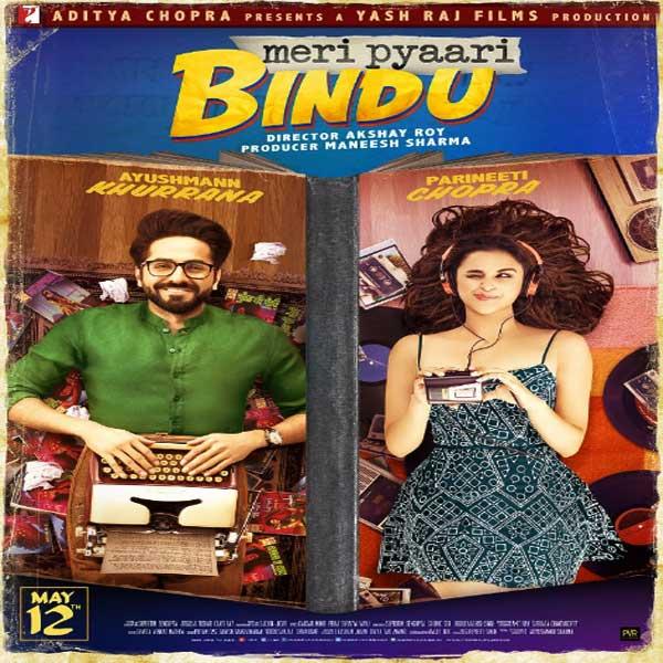 Meri Pyaari Bindu, Meri Pyaari Bindu Synopsis, Meri Pyaari Bindu Trailer, Meri Pyaari Bindu Review, Poster Meri Pyaari Bindu