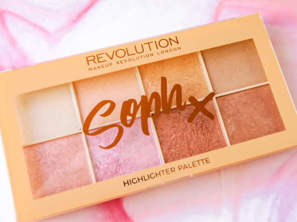 Review - Paleta Soph Iluminadores Makeup Revolution