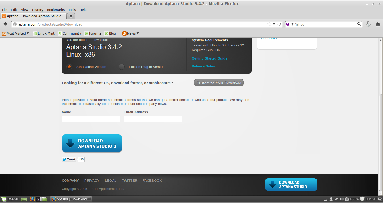aptana studio 3 custom template youtube  elvenware eclipse