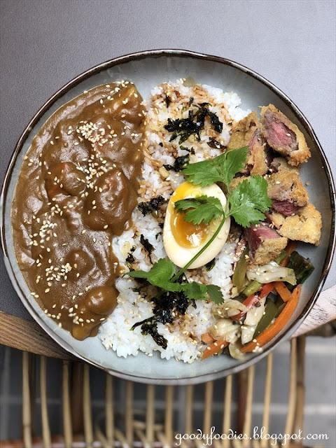 Beef Katsu Curry Rice, Lucky Tora KL