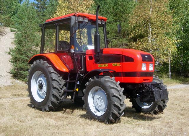 тракторы Belarus