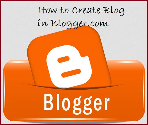 How to start blog in blogger