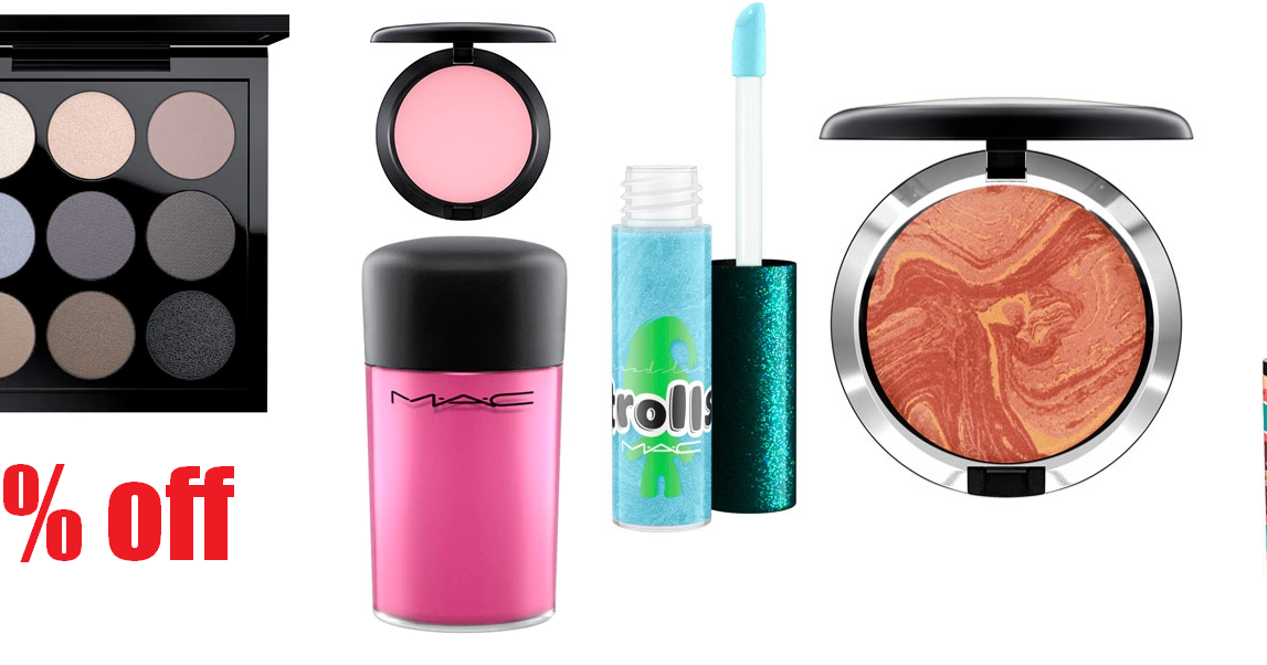 40% Off MAC Cosmetics Clearance Sale + Free Shipping