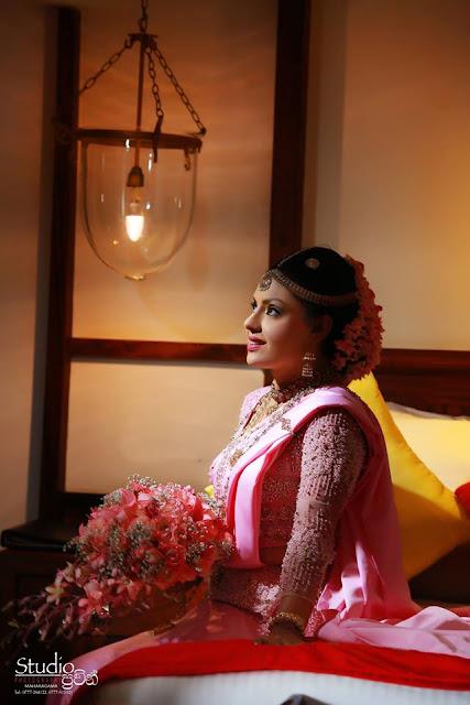 Yashoda Wimaladharma Bridal photoshoot