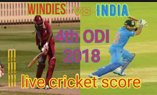 India vs WI 4th ODI