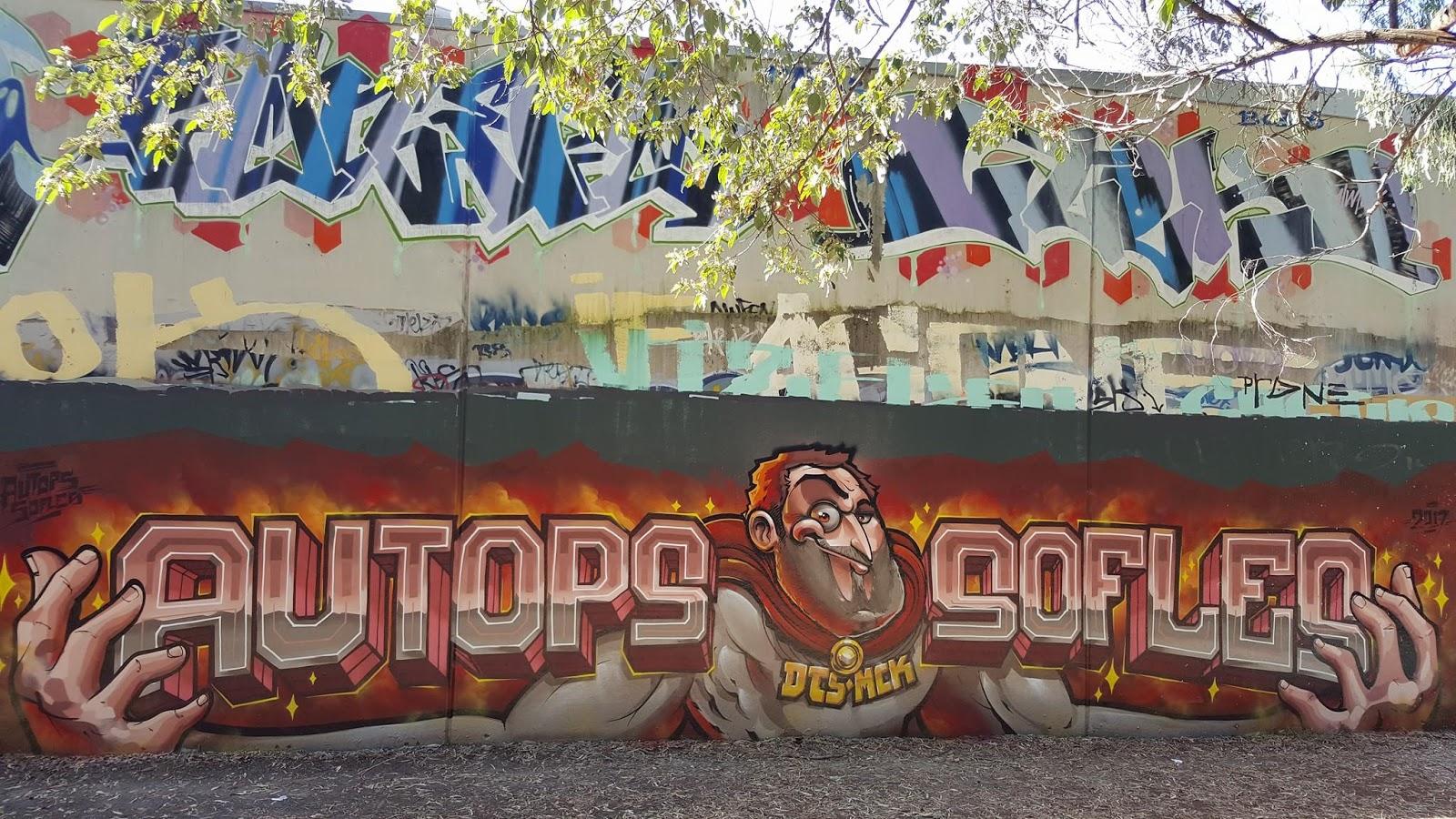 Vous You Vous Some Aussie Graffiti Flavour Koc Wca Dts Sofles Lush Devo Avske Brisbane Sydney And Melbourne
