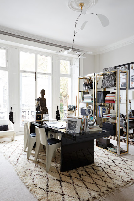 The Eclectic London Home of Designer Malene Birger