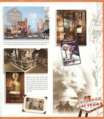 Atomic Testing Museum Las Vegas Brochure