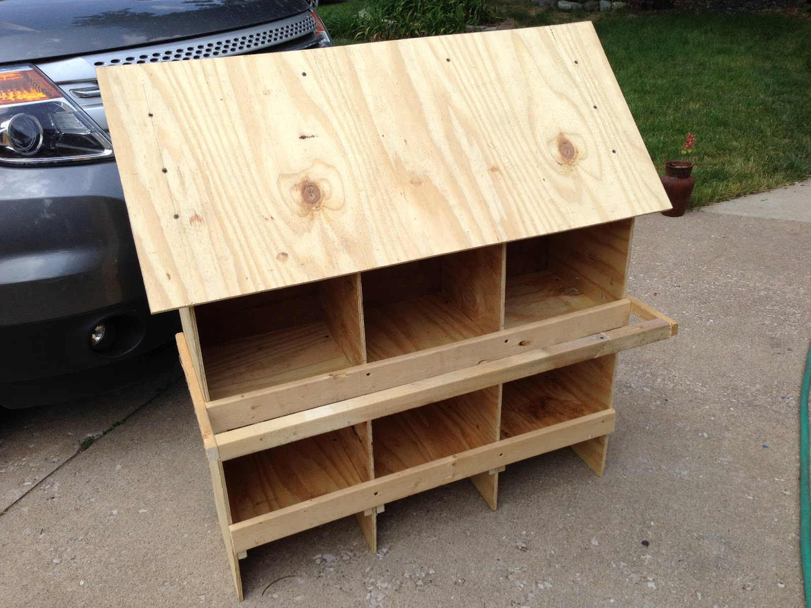 joes garden journal a low cost easy to build chicken
