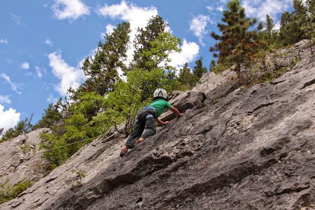 Family Adventures In Canadian Rockies Rock Climbing With Kids Kananaskis