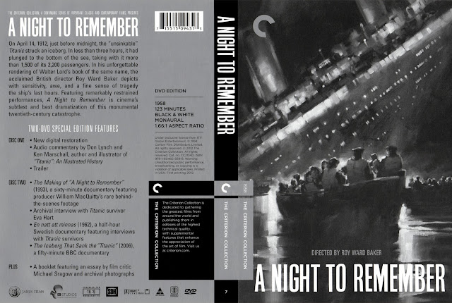 A Night to Remember (scan) DVD Cover