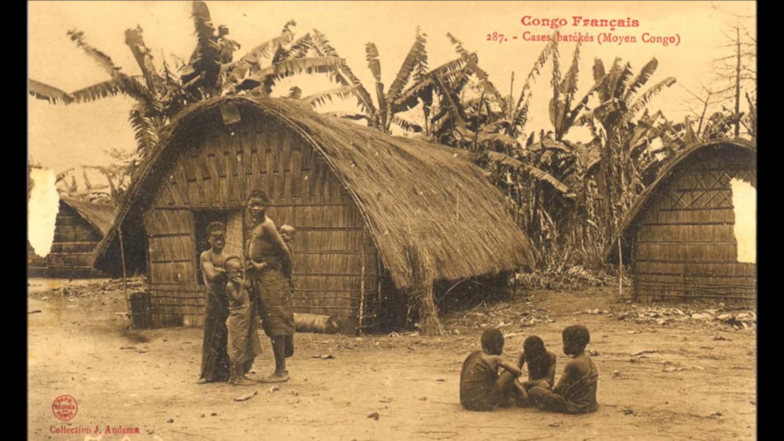 Postcard from the French Congo.