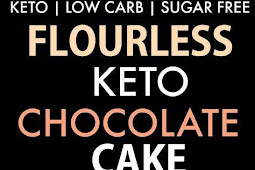 Flourless Paleo Vegan Chocolate Cake (Keto, Low Carb)