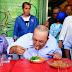 Durante campanha em Ceilândia, Ibaneis prometeu volta de programas sociais