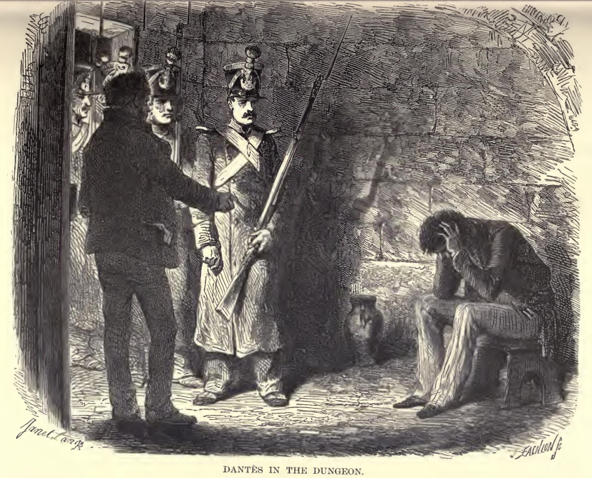 Edmond Dantès in prison