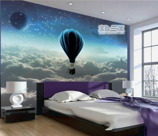 Stunning 3D Wallpaper for living room walls, 3D wall murals 2018